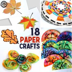 the best paper crafts for kids