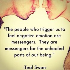 Our emotional triggers are fantastic teachers!