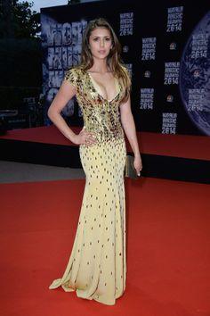 Nina Dobrev in Jenny Packham Spring 2013, Worn at the World Music Awards in Monte-Carlo, Monaco