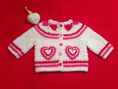 Crochet Pattern for Baby Toddler Sweater by ThePatternParadise, $4.99