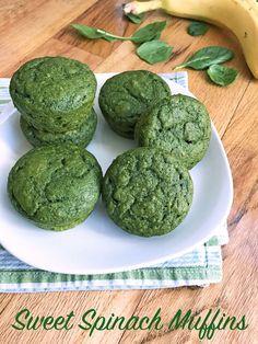 Sweet Spinach Muffins | Super Healthy Kids | Bloglovin'