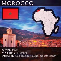 "Feminist inspiration from @feministastic on Instagram: #Morocco officially the Kingdom of Morocco is a country in the Maghreb region of North Africa. Geographically Morocco is characterized by a rugged mountainous interior and large portions of desert. It is one of only three countries (with Spain and France) to have both Atlantic and Mediterranean coastlines. The Arabic name al-Mamlakah al-Maghribiyah (Arabic: المملكة المغربية meaning ""The Western Kingdom"") and Al-Maghrib (Arabic: المغرب…"