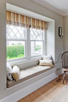 Harbor View Window Seat - traditional - living room - boston - LDa Architecture & Interiors