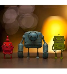 RGB Edition Robots By Just Robots