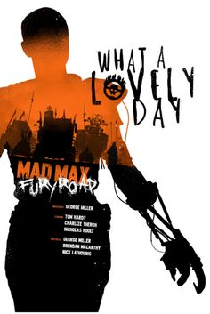 Mad Max: Fury Road (2015) ~ Minimal Movie Poster by Joseph Harrold #amusementphile
