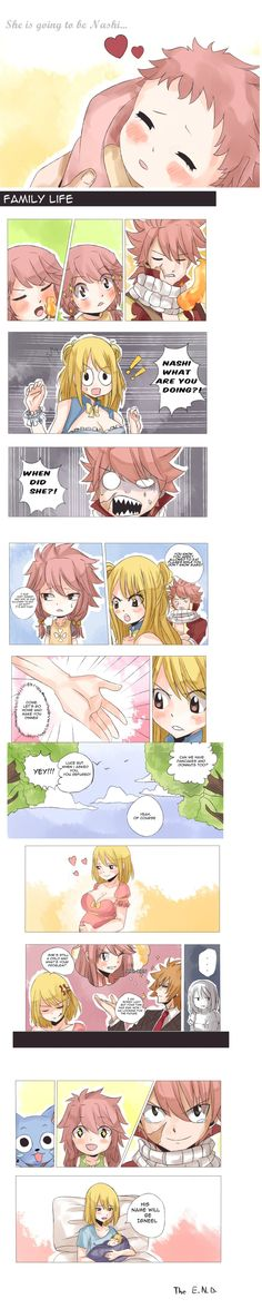 September monthly art posts: Nalu fluff week PART2 by rawwxxwizz