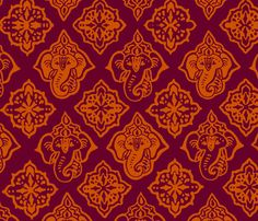 Elephant Booty Hot fabric by elephant_booty_studio on Spoonflower - custom fabric