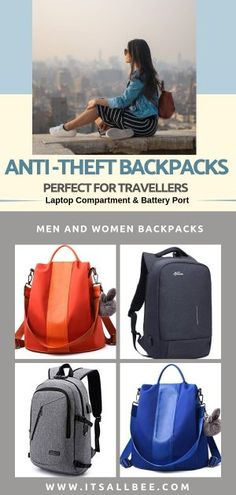The Best Anti Theft Travel Backpacks For Travellers (Men s   Women s 006bdc224b4d1