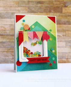Shaker Card by Vanessa Menhorn