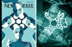 """Women Are Re-Creating This Magazine Cover To Say """"I Look Like A Surgeon"""""""