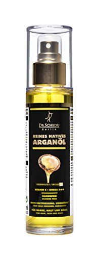 Dr. Schedu Berlin pure native Moroccan unroasted Argan oil,first cold pressing,without chemical treatment,for hair,face,skin,and nails,100ml(3.38Fl Oz),silicone-free and cruelty-free,made in Germany! * Check out the image by visiting the link.