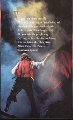 Do You Hear The People Sing - Les Miserables < singing along in my head Theatre Nerds, Musical Theatre, Theater, Hamilton, Another Period, Comedia Musical, Dark Night, Period Dramas, Music Lyrics