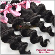 virgin brazilian hair extension loose