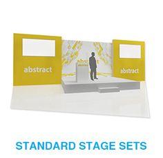 standard stage set hire