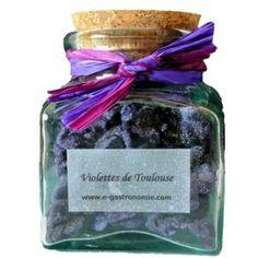 Epicerie fine, violette cristallisée, violettes cristallisées, confiserie artisnale en ligne