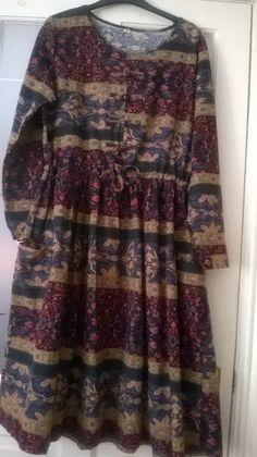 Boho style dress by OT OK Linen blend 42 Chest. Boho Style Dresses, Boho Fashion, Colour, Clothes For Women, Blouse, Winter, Tops, Color, Outerwear Women