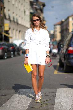 <font><font> Le 8 Street Style Trends Top: Printemps 2015</font></font>  - HarpersBAZAAR.com
