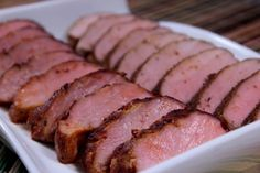 20 Ideas for Pork Loin Rub Recipe . Pork Loin Dry Rub for Smoking Pork Sirloin Roast, Cooking Pork Tenderloin, Grilled Pork Loin, Pork Chops, Smoked Meat Recipes, Smoked Pork, Pork Recipes, Pellet Grill Recipes, Recipes