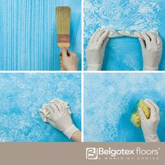 There are many different painting techniques you can use on your walls or any surface to create interesting textures and effects. Have a look at some of the techniques here: http://www.diynetwork.com/how-to/skills-and-know-how/painting/how-to-create-decorative-paint-techniques