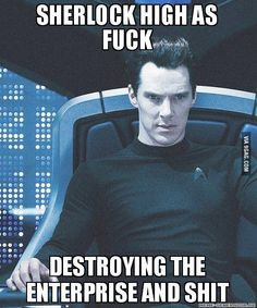 """I knew I wasn't the only one who thought this lol"" First time that I watched star trek and rooted for the villain :)"