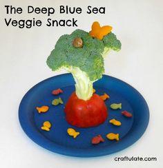 The Deep Blue Sea Veggie Snack