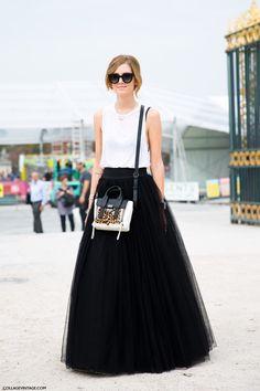 Chiara Ferragni: <3 the full tulle skirt!