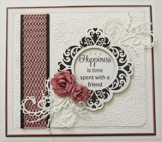 Sue Wilson Dies -Clean and Simple Collection - Zig Zag Border-Sue Wilson Dies -Clean and Simple Collection- ZigZag Border (check out the video on the video tab to see how Sue Wilson creates a beautiful card using this die) Don't let this one fool you Sue Wilson Dies, Spellbinders Cards, Beautiful Handmade Cards, Die Cut Cards, Friendship Cards, Making Ideas, I Card, Wedding Cards, Cardmaking
