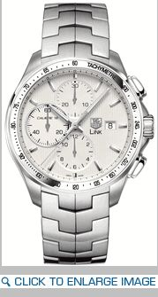 CAT2011.BA0952 TAG Heuer Link Mens Auto Chrono Silver Dial Watch