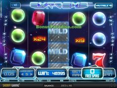 Toller Gewinn am Spielautomat Extreme beim Leo Vegas Casino Slot, Vegas Casino, Neon Signs, Arcade Game Machines, Games