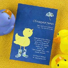 Baby Showers : Duck Duck Baby Duck