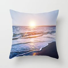 Throw Pillow made from 100% spun polyester poplin fabric, a stylish statement that will liven up any room.Beach, ocean, sea, landscape, water, summer, summertime, sky, sunset, sunrise, photo, pic, picture, SEA SHORE, SHORE, FOAM, WAVES, photograph, photography, Nikon, dslr, camera, sunset, blue, sand, exposure, explore, Cyprus, love, nature, natural, sky, pink, interior design, designer, photographer, home decor, decoration, decoracao, decorate, wall art, art print, duvet , bedroom, living…