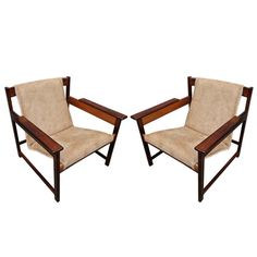 Pair of Sergio Rodrigues Lia Chairs