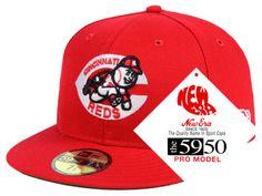 158e174df3d Cincinnati Reds New Era MLB Retro Stock 59FIFTY Cap