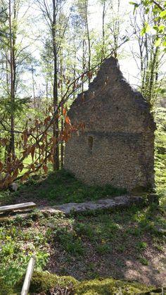 Gorhic Woodland Church Ruins, Germany