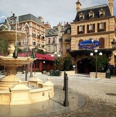 Place de Rémy, Ratatouille The Ride | Walt Disney Studios Park, Disneyland Paris