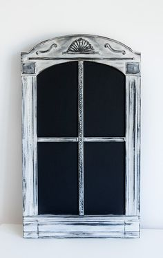 window chalk board