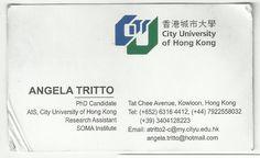 Angela Tritto - City University of Hong Kong