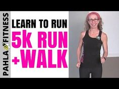 5K (3.1 Miles) Indoor RUN + WALK with 1 Minute Intervals | 35 Minute Fun Run, Learn to RUN at HOME - YouTube