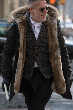 21 Wildly Fabulous Furs at New York Fashion Week