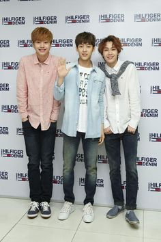Sungjae, Minhyuk and Ilhoon ❤
