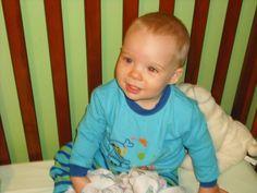 Mon petit fils, Jacob 14 mois