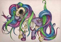 My little pony is a zombie !