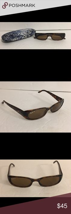 Nice Ray Ban P 2129 Polarized Sunglasses Beautiful! Ray Ban P 2129 polarized sunglasses in excellent condition. Attractive tortoise frame. From a smoke/pet free home Ray-Ban Accessories Sunglasses