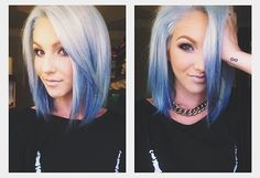 I want to dyed my hair like this!