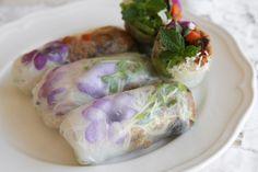 flower rice rolls @A