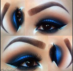 Gorgeous Blue Eye Makeup