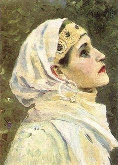 Une Princesse - Mikhail Nesterov