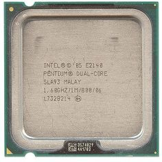 Intel Pentium Dual Core E2140 1.6GHz 800MHz 1MB Socket 775 CPU by Intel. $5.99. Get the performance you need for everyday computing such as listening to music, editing digital files, web browsing and much more! This Intel Pentium Dual Core Desktop Processor E2140 features a 1.6 GHz CPU Speed, 800 MHz Bus Speed and a 1 MB L2 Cache! Keep up with the latest applications by upgrading to this Pentium Dual Core Socket 775 Processor!