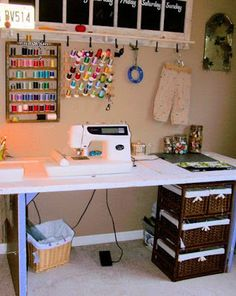 nice sewing table