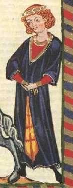 Cotte und Surcote, Schapel am Kopf Painting, Art, Crowns, Middle Ages, Figurine, Art Background, Painting Art, Kunst, Paintings
